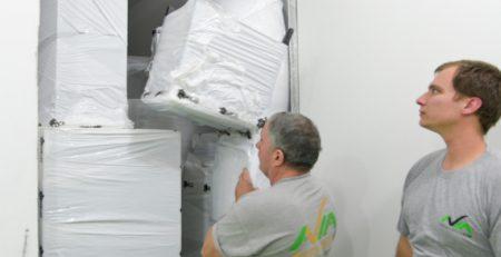 מקצועיות באחסון הציוד